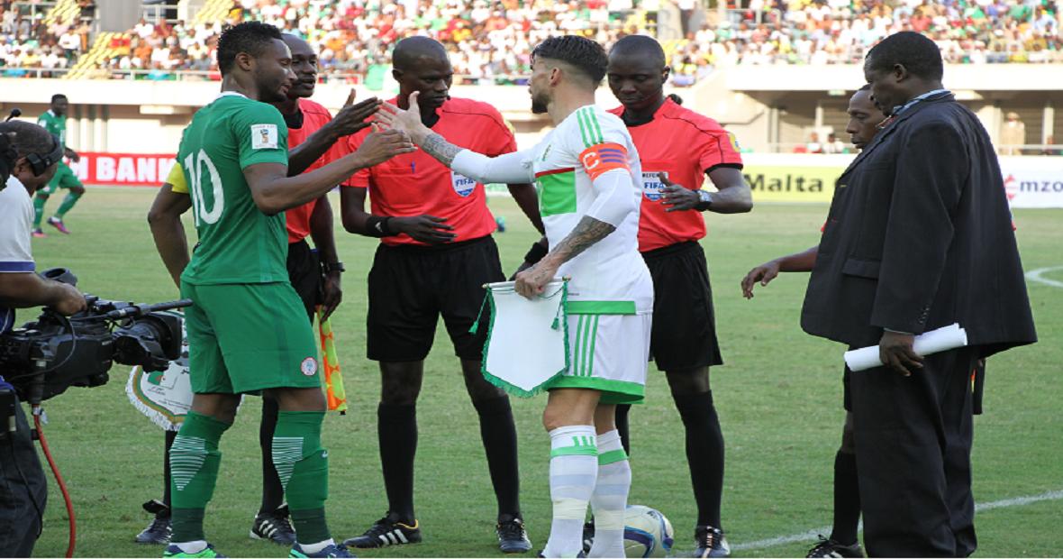 Photo eliminatoires de la coupe du monde 2018 nig ria 3 alg rie 1 - Algerie disqualifie coupe du monde ...