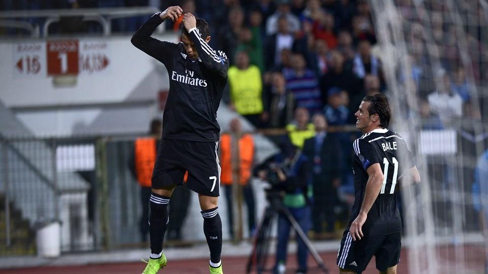 Real Madrid 1 2: Photo : LDC : Real Madrid 2-1 Ludogorets