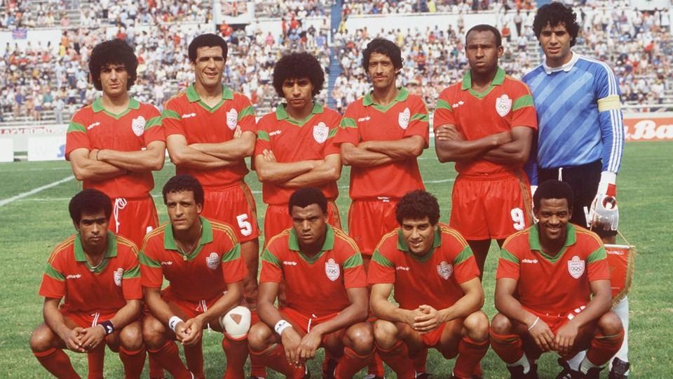 Photo les grandes victoires arabes en coupe du monde - Coupe du monde mexique 1986 ...