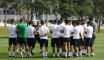Premier entrainement de l'équipe nationale au Qatar